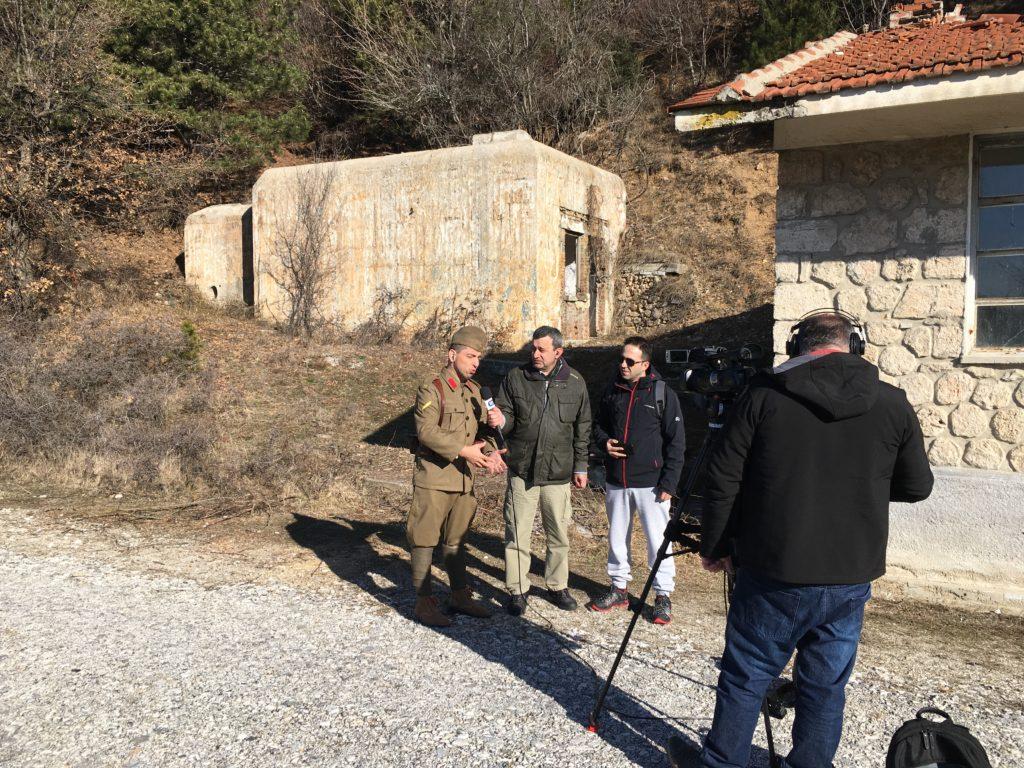 ΕΡΤ3. Βιωματικές περιηγήσεις στα οχυρά Ρούπελ (video)